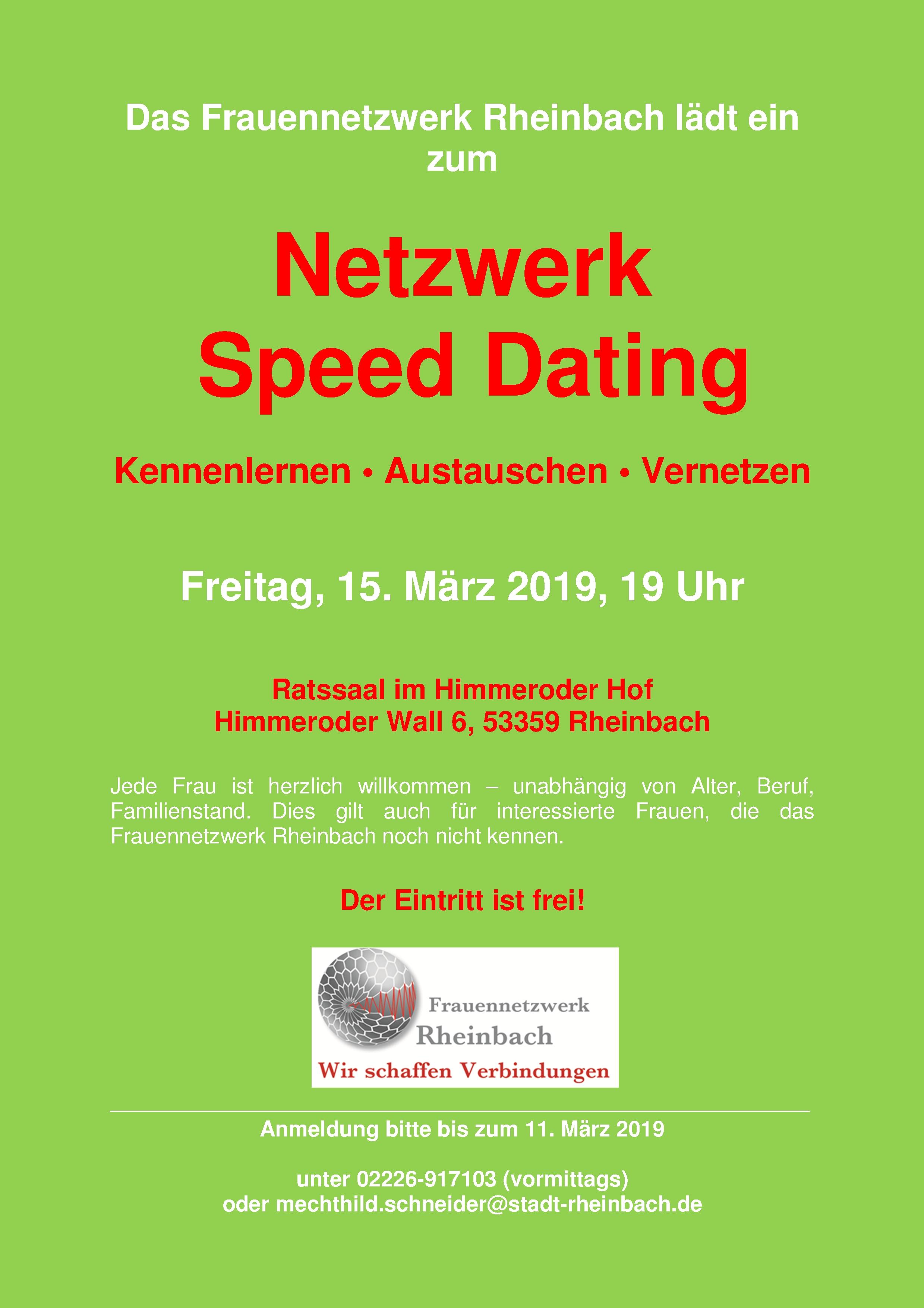 speed dating kommentarer